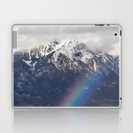 Rainbow and mountains after the storm Laptop & iPad Skin