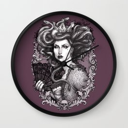 MEDUSA IMPERATRIX MUNDI Wall Clock