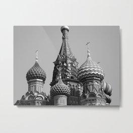 St Basil's Cathedral  Metal Print