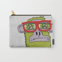 005_monkey glasses Carry-All Pouch