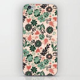 Succulent flowerbed iPhone Skin