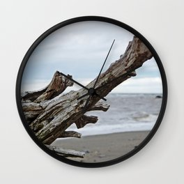 Natural Driftwood Wall Clock