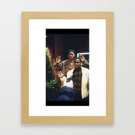 Will and Carlton Framed Art Print