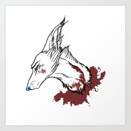 wolf mind Art Print