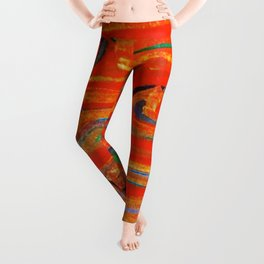 LOVE over and over Leggings