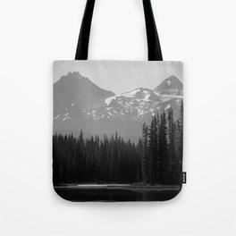Lake Mist Tote Bag