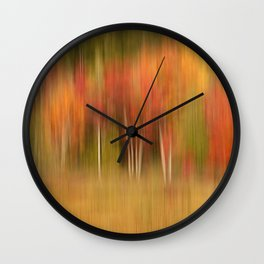 Autumn Memories Wall Clock
