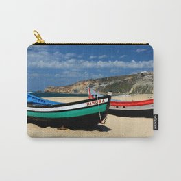 Colorful fishingboats Carry-All Pouch