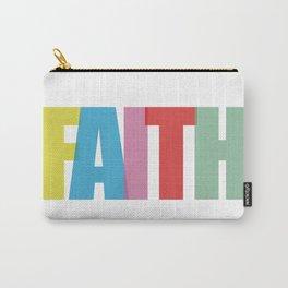 Faith (Color) Carry-All Pouch