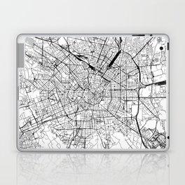 Milan White Map Laptop & iPad Skin