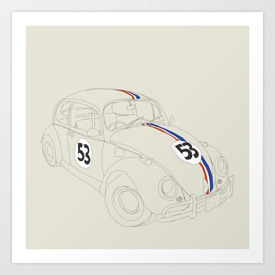 Herbie Art Print