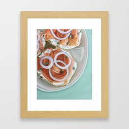 Breakfast Delight Framed Art Print