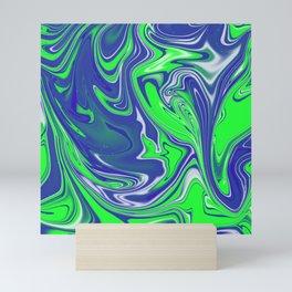 Fluo Meltdown Mini Art Print