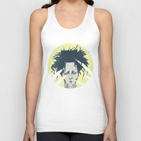 edward scissorhands Tank Tops featuring edward scissorhands by Berkay Daglar