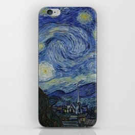 The Starry Night iPhone Skin