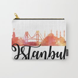 Istanbul Skyline Carry-All Pouch