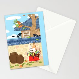 Welcome to Korea  Stationery Cards