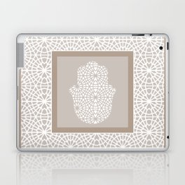 Hamsa in morrocan pattern Laptop & iPad Skin