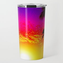 Sunset on Waikiki Travel Mug