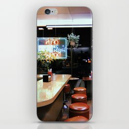 At a Donut Shop iPhone Skin