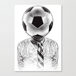Soccer Fan Canvas Print