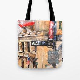 WALL ST I Tote Bag
