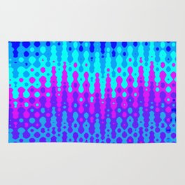 Abstract Melting Oceans Rug