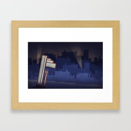 Big City Framed Art Print