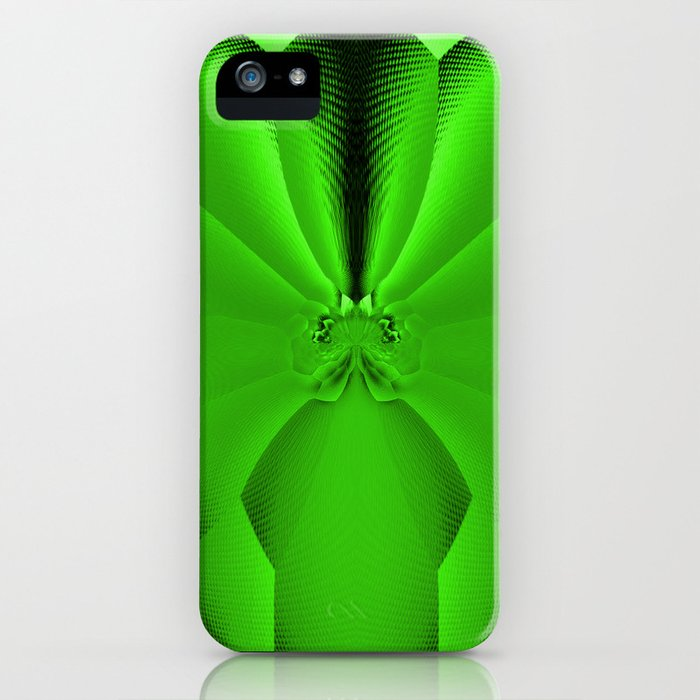 Vibrant Tropical Foliage Green #society6 iPhone Case