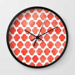 Moroccan Blush  Wall Clock