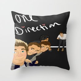 The One Direction Throw Pillow