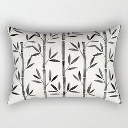Black Bamboo Rectangular Pillow
