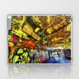 London Graffiti Van Gogh Laptop & iPad Skin