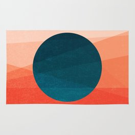 Solar Eclipse Rug