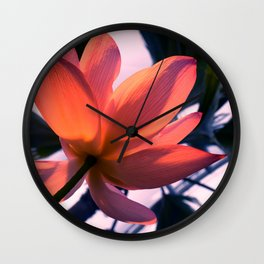 Big flower Wall Clock