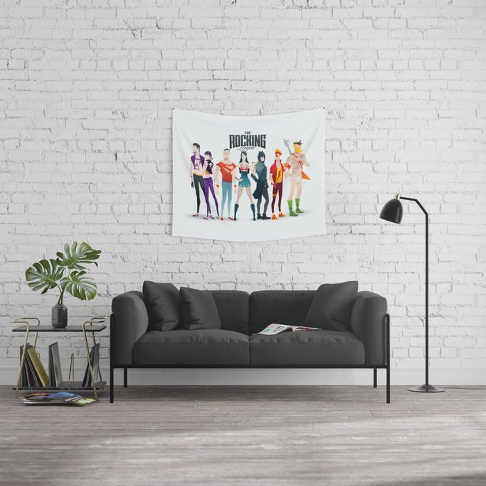 the rocking league Wall Tapestry