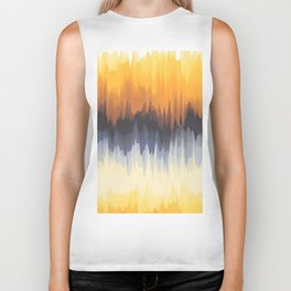 Abstract Art. Sun Light Biker Tank