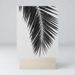 Palm Leaf Black & White I Mini Art Print