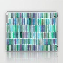 Green Watercolors Laptop & iPad Skin