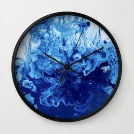 Inner Sapphire Wall Clock