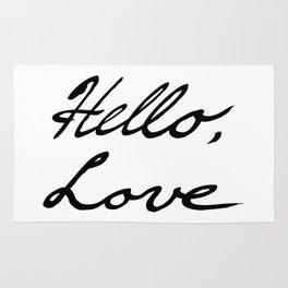 Hello, Love Rug