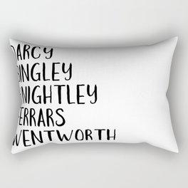 AUSTEN'S MEN Rectangular Pillow