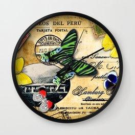 Correos del Peru Wall Clock