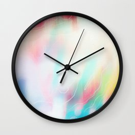 colour wave Wall Clock