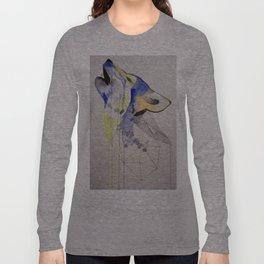 Howling Wolf Long Sleeve T-shirt