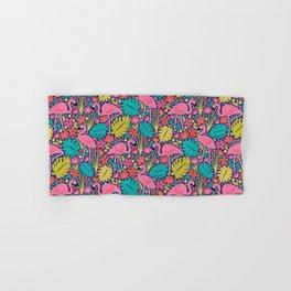 Tropical Flamingo Hand & Bath Towel