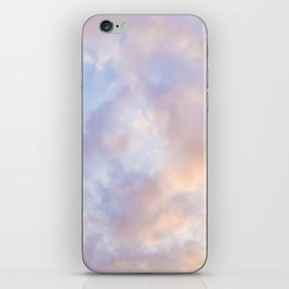 Pink sky / Photo of heavenly sky iPhone Skin