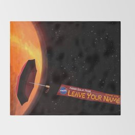 Parker Solar Probe Throw Blanket