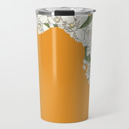 Florida in Flowers Travel Mug