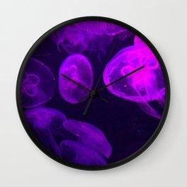 Moon Jellyfish II Wall Clock